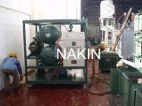 オイルシリーズの二重段階が付いている機械をリサイクルするZydの真空の変圧器