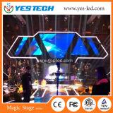 Alta pantalla de interior a todo color de la etapa LED de la definición SMD
