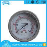 2.5 de Manometer van Micropressure van het Type van Blaasbalgen van het Geval van het Roestvrij staal '' 60mm