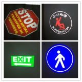 20W LEDのロゴのGoboの床ライト交通標識プロジェクター