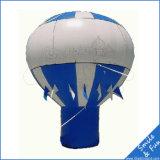 La tela incatramata 3m, 4m, 6m, 8m, 10m del PVC ha personalizzato l'aerostato a terra di pubblicità gonfiabile