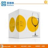 Caixa de empacotamento de papel para o copo do vidro de vinho