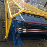 Rodillo que forma la hoja acanalada del azulejo de azotea del metal que hace la máquina