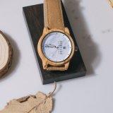 2018 Las costumbres de madera de alta calidad Ver reloj de pulsera de cuarzo