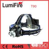 400lm Xm-crie L T6 Zoom projecteur télescopique