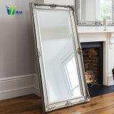 Home Produtos Quarto Parede de comprimento total curativo de Prata Branco moderno Mirror