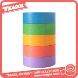 다채로운 접착성 서류상 관례에 의하여 Washi 인쇄되는 보호 테이프