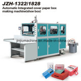 AUTOMATIC Cover and box Conjoined Shoe box Erecting Machine