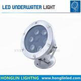 lámpara de la IGUALDAD de 3W LED, luz de la piscina del LED, luz subacuática