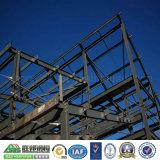 Estructura de acero de la planta modular