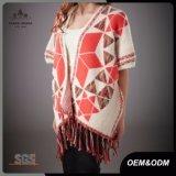 Les femmes court- les chandails surdimensionnés de Knit de chemise