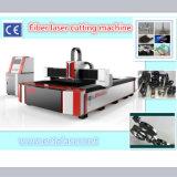 tagliatrice del laser della fibra di CNC 700W per il taglio del CS del metallo ss