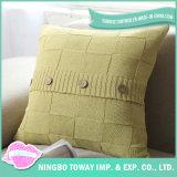 Kundenspezifisches Throw-Kissen-Kasten-Leerzeichen-Aquarell strickte Kissen-Deckel