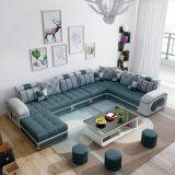 新しいデザインU形の居間の家具ファブリックソファー(S889)