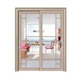 Precio competitivo de puerta corrediza de vidrio con SGS aprobado