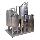 Full Automatic Food Sanitary Stainless Steel 2000L / H Misturador de refrigerantes