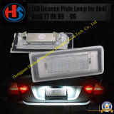 Luz da chapa de matrícula do diodo emissor de luz para Audi Tt 8n 99-06 4014 18LED (HS-LED-012)