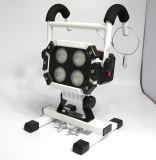 자석을%s 가진 직업적인 기업 건전지 대신할 수 있는 재충전용 40W LED 작동되는 투광램프