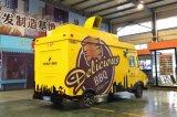Vrachtwagen van het Voedsel van de Stijl van Doubai de Elektrische Naar maat gemaakte/de Mobiele Vrachtwagen van de Taco voor Verkoop