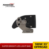 Super brillante 180W de protección IP68 Offroad Barra de luces LED curvada