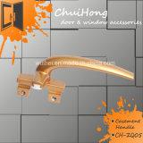 熱い販売の高品質の粉のコーティングのペンキのアルミニウムドアのウィンドウ・ハンドルロック