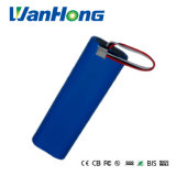 18650 bateria de lítio de 7.4V 5000mAh usada para o verificador da rede