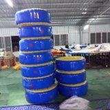 Rond gonflable de taille faite sur commande flottant le matelas eau-air pour le syndicat de prix ferme