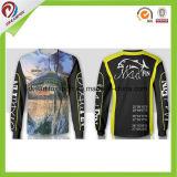 Profession nouvelle conception Custom sublimé de chemises à manches longues pour la pêche