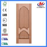 Interior HDF MDF laminado moldeado de la puerta de chapa de la piel (JHK-008-1)