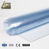 Anti-flamme/incendie en PVC résistant à la preuve de chaleur/Film flexible pour la gaine de ventilation