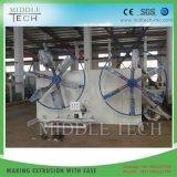 PVC/plástico HDPE/PPR/tubo de Pert/tubo/manguera Estación Doble Coiler
