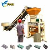 Usine de production de briques de béton, finisseur de fonctionnement facile caler la machine