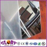 Het plastic Zilveren AcrylBlad van de Spiegel van de anti-Kras PMMA voor Decoratie