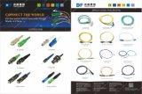 24 tresses LSZH de fibre optique des faisceaux Om4 avec le connecteur de LC/Upc