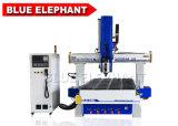 1325 4X8FT 4 hölzerner Ausschnitt CNC-Prägefräser der Mittellinien-3D für Holzbearbeitung-Geschäftengraver-Maschine