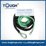 Corda elétrica sintética do guincho da corda resistente de UHMWPE para ATV UTV