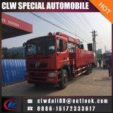 La Chine 2018 Nouveau Dongfeng grue montés sur camion avec échelle