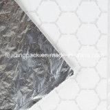 Сетка Honeycomb бумаги изолированный синий процедуры завершения проверки