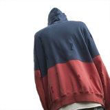Новый цвет 2017 Streetwear 2 прибытия слишком большой сорванное Hoodie