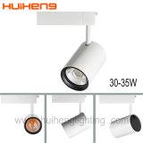 Venta caliente LED regulable luz CREE COB vía 25W