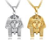 Juwelen van de Ketting van de Halsband van Tutankhamun van de Vrouwen van de Halsband van Pharoah van de Sfinx van de Persoonlijkheid van de Halsbanden van de Farao van Akhnaton van het Roestvrij staal van mannen de Cubaanse