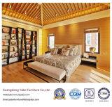Mobília concisa do quarto do hotel da estrela do estilo ajustada com banco (YB-WS-72)