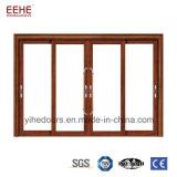 Pátio de alumínio de tamanho padrão da porta corrediça e Windows