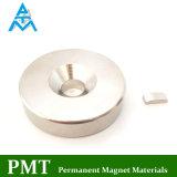 Миниый магнит дуги N52 с материалом постоянного неодимия магнитным