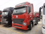 reboque do caminhão do trator de 380HP Sinotruk HOWO A7 6X4/cabeça do trator