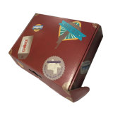 Flacher gepackter Verschiffen-Papier-verpackenkasten