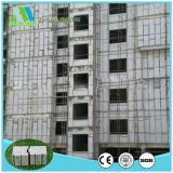 Los paneles de pared exteriores de emparedado de construcción del material EPS de la fibra del cemento de la tarjeta barata de la fachada