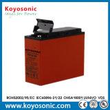 batería de acceso frontal de la batería de la comunicación de 12V 100ah para el sistema Telecom