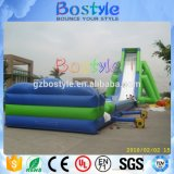 corrediça de água inflável gigante elevada de 15m para adultos