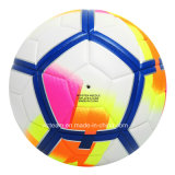 La qualité d'allumette personnalisent la bille en cuir d'unité centrale Futsal de logo